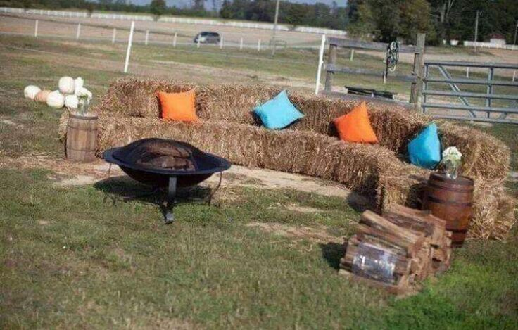 How cool would it be to have a camp fire/fire pit!