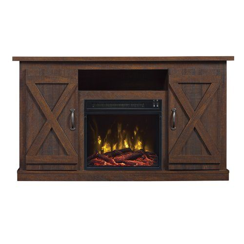 Geremia Tv Stand For Tvs Up To 55 Quot With Electric Fireplace
