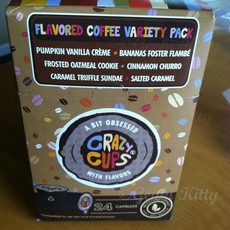 Crazy Cups variety box review