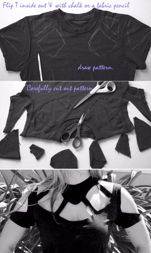 Cool DIY Fashion Ideas | Fun Do It Yourself Fashion projects | Learn how to…