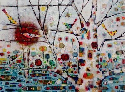 Nesting by Maree Welman 1200 x 900