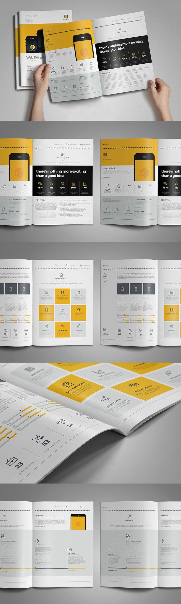 Mejores 111 imágenes de Free Brochure Templates en Pinterest ...
