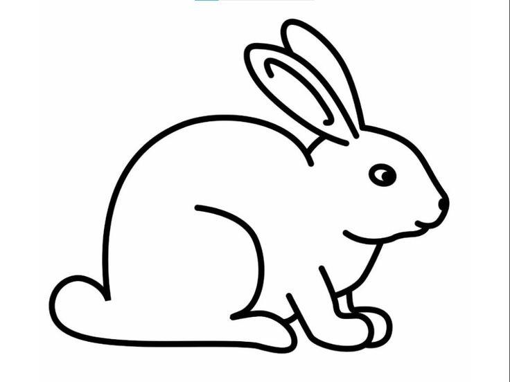 Galeri Gambar Mewarnai Kelinci Yang Unyu 36color Rabbit Colors Bunny Coloring Pages Bunny Drawing