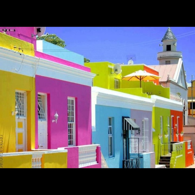 Cape Town. love the colors....