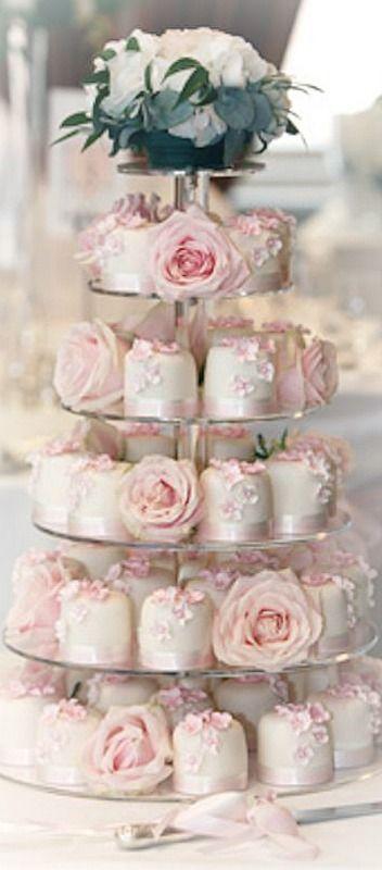Posh Petit Cakes ~ Debbie Orcutt  ❤