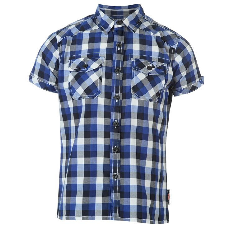 Lee Cooper | Lee Cooper Check Shirt Junior | Kids Shirts