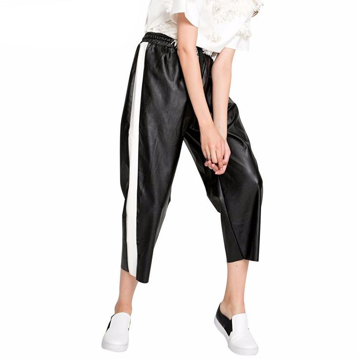 Cassie Contrast Stripe Trouser