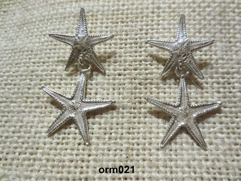 Argento Starfish Earrings – Morgana