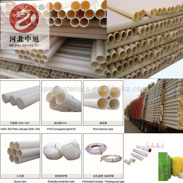 Telecom railway expressway PVC Pipe supplier