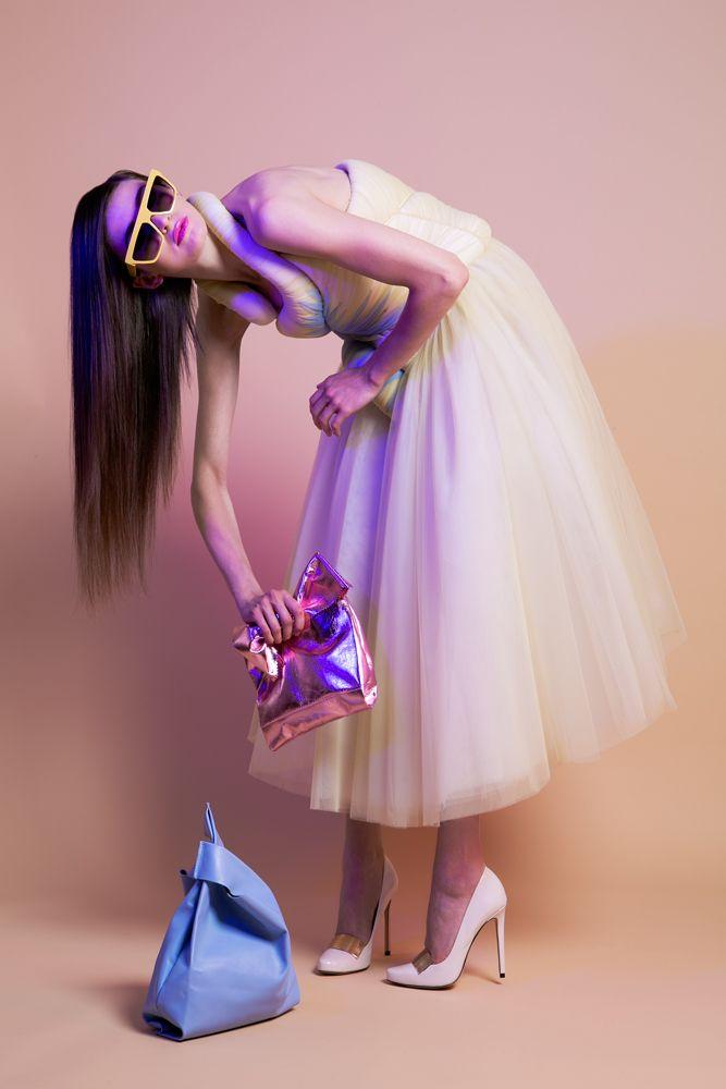 Color Curves | DModa mag dress by Sylvio Giardina  photographer Marco D'Amico stylist Marco Grisolia