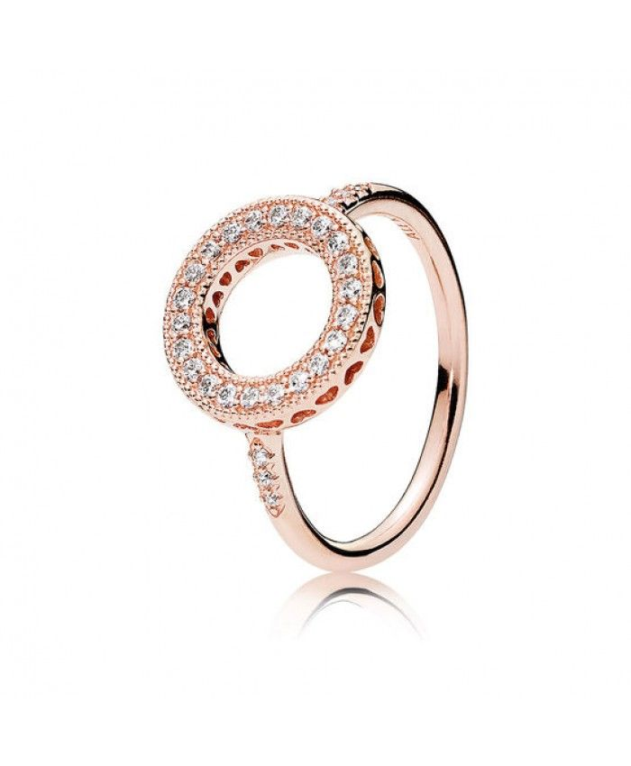 62298aa6c ... germany pandora rose hearts of pandora halo cz ring f826f 4fa8e canada  radiant ...