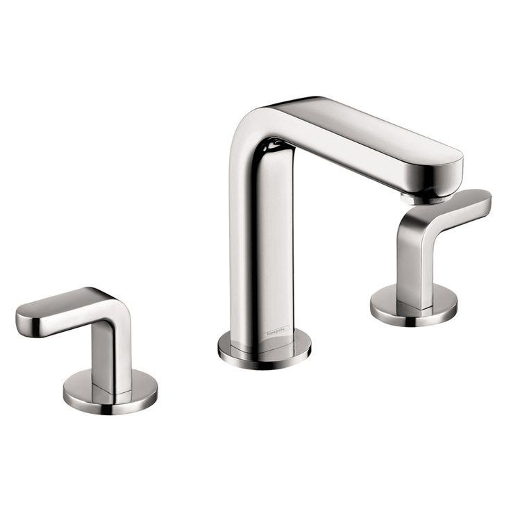Hansgrohe Metris S Chrome 2-Handle Widespread WaterSense Bathroom Faucet (Drain Included)