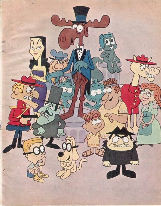 The Bullwinkle Show cast                                                                                                                                                      More