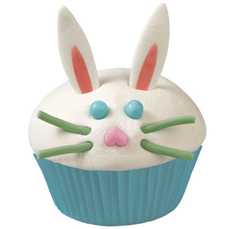 Make Easter easy and fun with quick-to-decorate cupcakes! Just add the fun trims from the Wilton Bunny Cupcake Decorating Kit to make your iced cupcakes hop off your Easter buffet or dessert table.