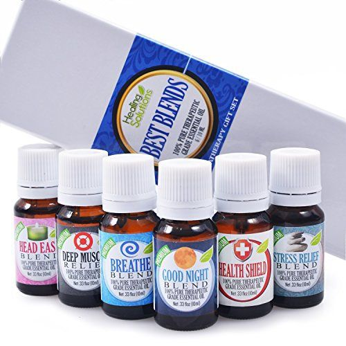 Product review for Best Blends Set of 6 100% Pure, Best Therapeutic Grade Essential Oil - 6/10mL (Breathe, Good Night, Head Ease, Muscle Relief, Stress Relief, and Health Shield) -  Reviews of Best Blends Set of 6 100% Pure, Best Therapeutic Grade Essential Oil – 6/10mL (Breathe, Good Night, Head Ease, Muscle Relief, Stress Relief, and Health Shield). Buy Best Blends Set of 6 100% Pure, Best Therapeutic Grade Essential Oil – 6/10mL (Breathe, Good Night, Head Ease