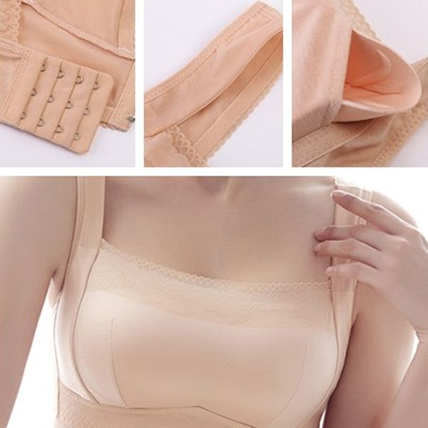 Hot Soft Wireless Bandeau Breathable Sleeping T-shirt Bras - NewChic