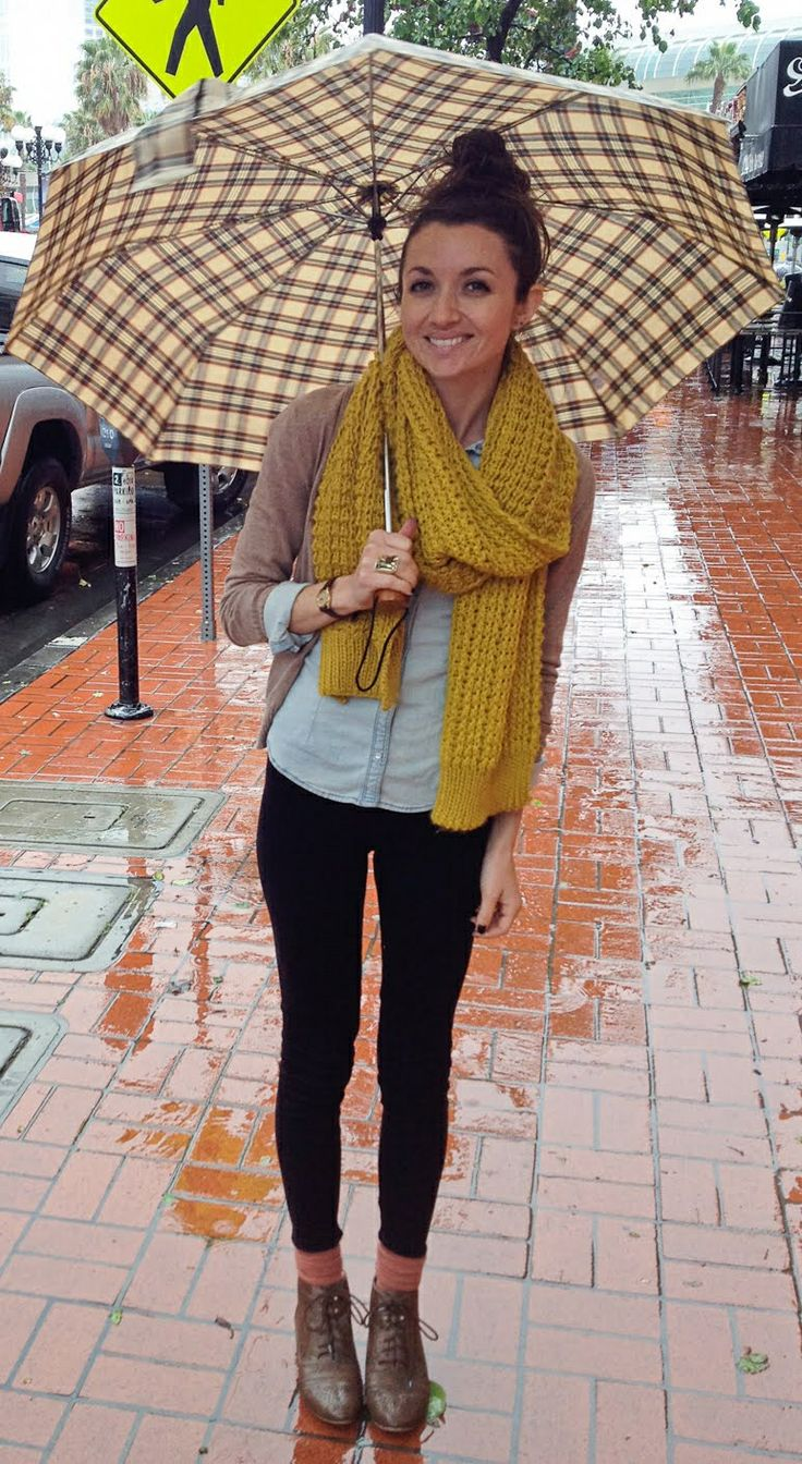 Best 25+ Rainy day outfits ideas on Pinterest | Rain outfits Black hunter boots and Rainy day ...