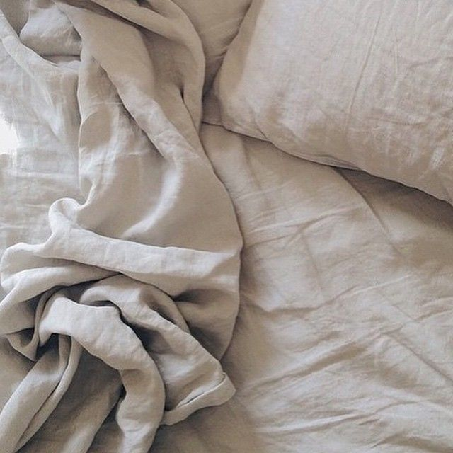 In Bed Linen in Dove Grey | Pillowcase sets from $75 |  Little Rae General Store