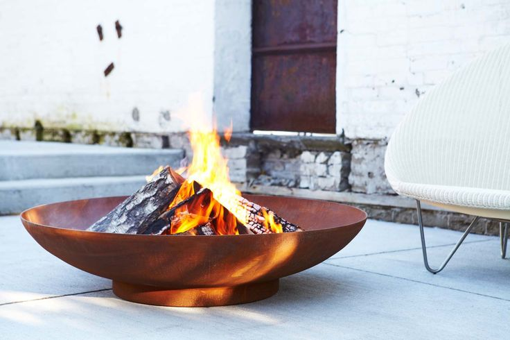 Modern Fire Pit Image Gallery | Paloform