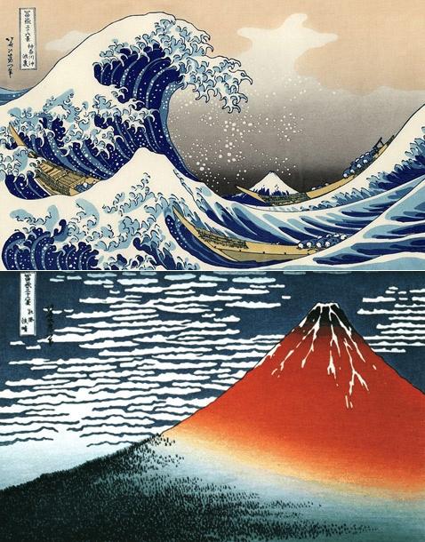 Katsushika Hokusai 葛飾北斎 woodblock print 1760–1849 - master ukiyo-e printmaker…
