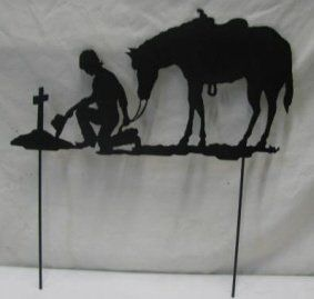 17 best images about tattoo ideas on pinterest cross for Cowboy silhouette tattoo