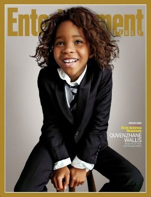 Beasts Of the Southern Wild's Quvenzhane Wallis Covers Entertainment Weekly, with her adorable self! #iHeart