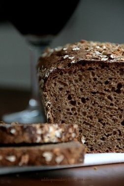 Wholemeal Bread with Dark Beer in the Maple Syrup // Chleb razowy na ciemnym piwie w syropem klonowym