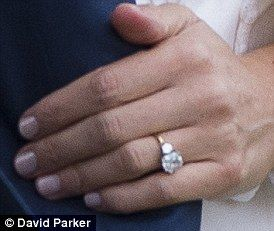 Harry designed bride-to-be's ring using his mother Princess Diana's diamonds Kensington Palace said the prince designed Ms Markle's engagement ring himself - using two stones which belong to his late mother Princess Diana.
