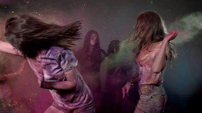 "Summadayze, an Australian music festival, chose ""Colourfornia"" as its theme for 2012"