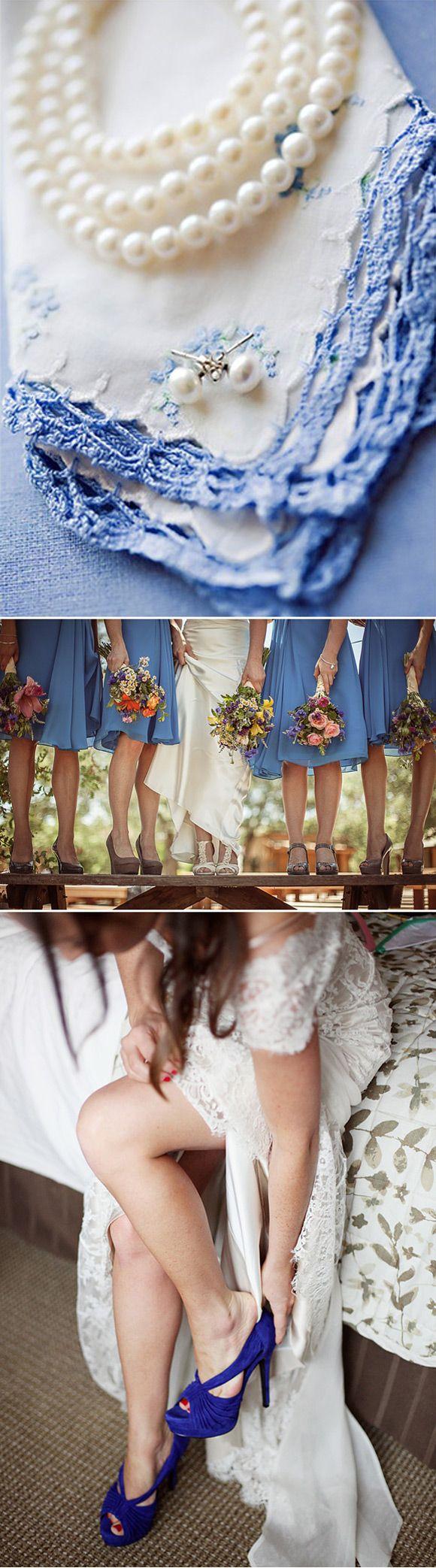 Ideas para llevar algo azul en tu boda