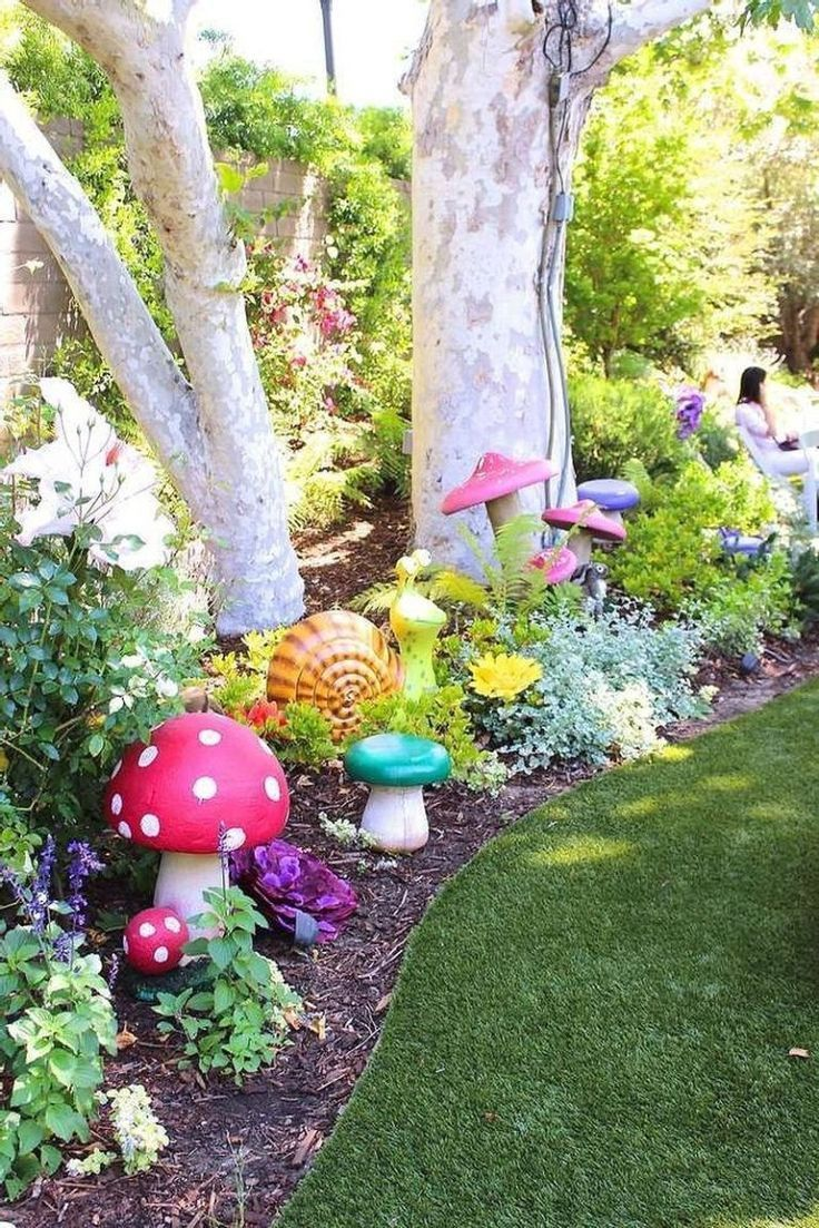 #Backyard #Happy #Ideas #Kids #Magical #Outstanding Outs – Gardening Ideas