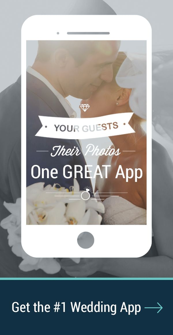 Your wedding guests will take a lot of photos. Ever wonder how you might see them all? Try WedPics, the FREE photo & video sharing app for weddings! Available on iPhone, Android and Web (for those using digital cameras). All photos that are shared to your WedPics albums are free to download!