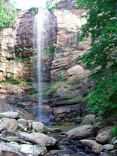 toccoa waterfall georgia