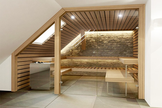 Kung Sauna Install