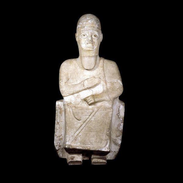 Estatua del Rey Idrimi de Alalakh