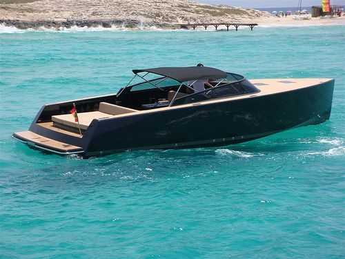 Luxury Motor Boat For Day Charter Van Dutch 40 And More