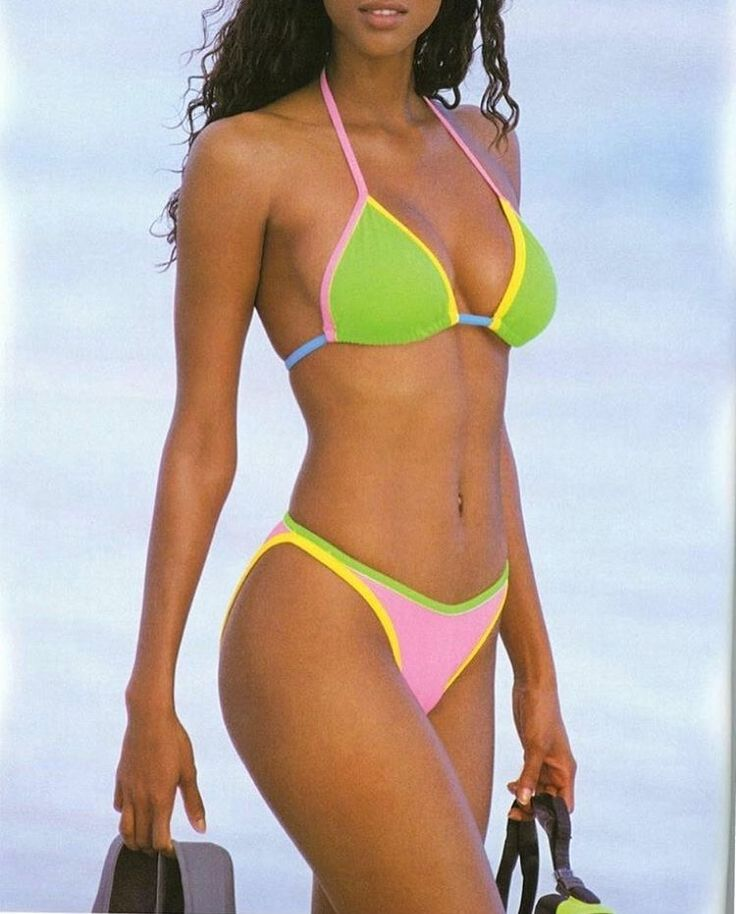 Best 25+ Tyra Banks Bikini Ideas On Pinterest