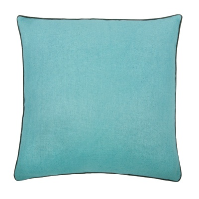 Thomas Paul Solid Aqua Linen Pillow from Layla Grace - get 15% off with pillow15 code