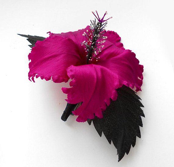 Purple+flower+for+sash%2C+Magenta+fabric+flower+brooch%2C+Flower+hair+clip%2C+Silk+flower%2C+Bridal+brooch%2C+Mother+of+a+bride+brooch.