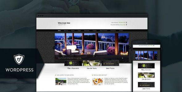 Welcome Inn - Hotel WordPress Theme   http://themeforest.net/item/welcome-inn-hotel-wordpress-theme/6906263?ref=damiamio       This hotel WordPress theme has all it takes to be the smartest choice when in search for a hotel website template. Use this theme for your website and watch the clients pouring in.   IMPORTANT: Support is offered exclusively in our Help Desk not here in the comments section. You'll need an account on our website in order to be able to submit a ticket. Please include…