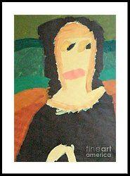 Patrick Francis - Framed Print featuring the painting Mona Lisa 2014 - After Leonardo Da Vinci by Patrick Francis