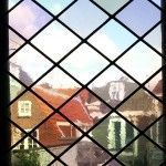 glas in lood diagonaal antiek glas