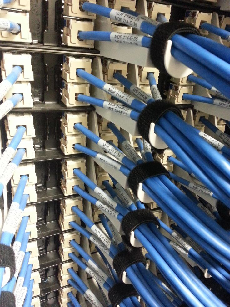 Every cable is labeled with velcro ties used. What an excellent job they've done!