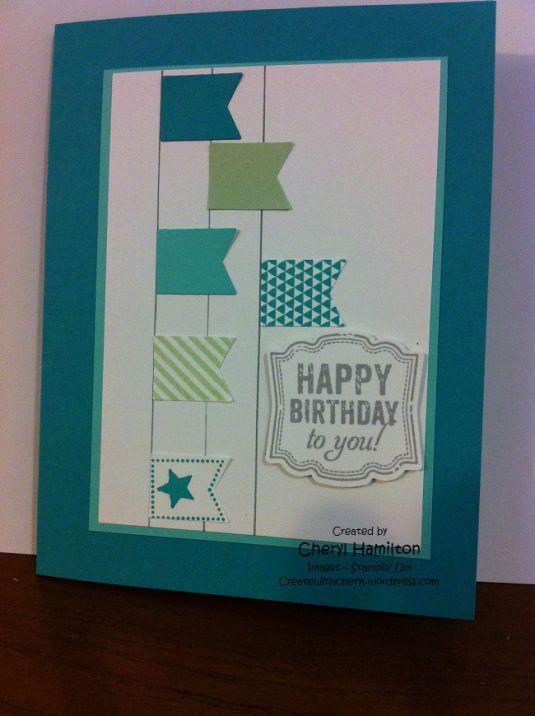 Geburtstagskarte - Idee