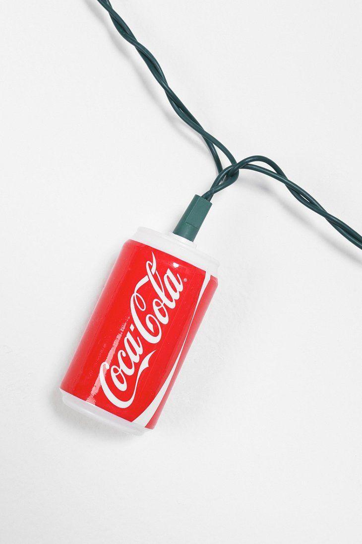 Coca cola christmas lights