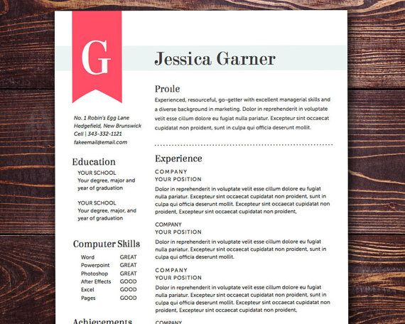 28 best Resume Ideas images on Pinterest Resume ideas, Resume - artsy resume templates