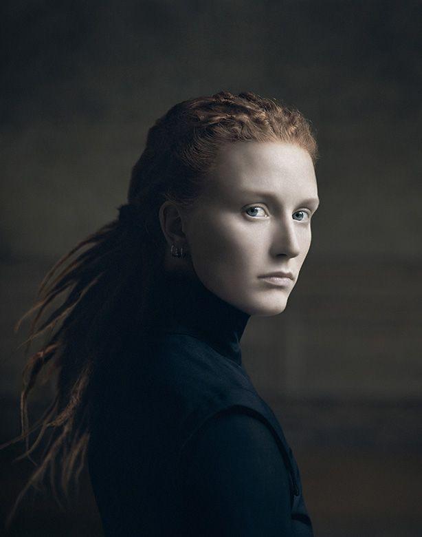 Desiree Dolron est une photographe néerlandaise qui a réalisée ces portraits s'inspirants de la peinture flamande.