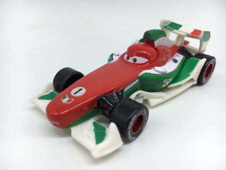 Pixar cars 2 Diecast Car Model F1 Francesco Bernoulli brinquedos miniaturas menino Kid Carros Pixar Metal 1:55 Toys for Children