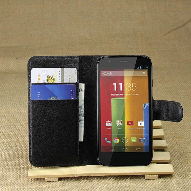 Flip Wallet Leather Cover Case For Motorola Moto G Case 1st Gen X1032 XT937C XT1028 Stand Shell capa para Carcasa Card Holder