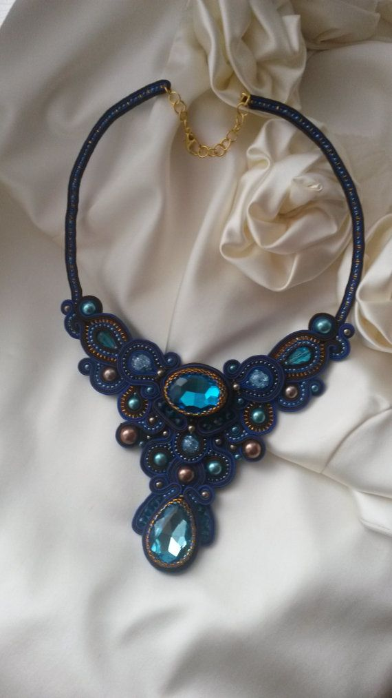Soutache necklace